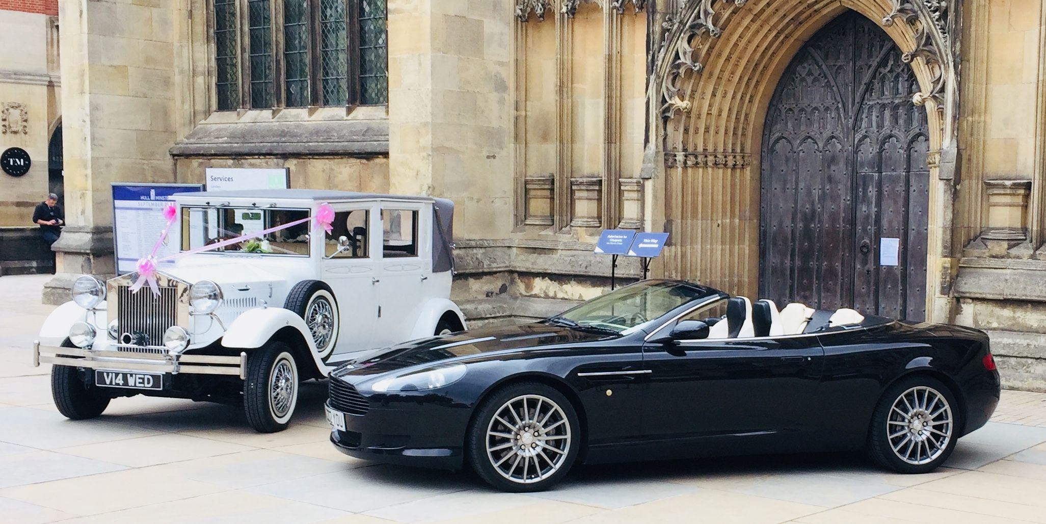'Aston Wedding Car to You'   Vintage Wedding Car Hire in ...