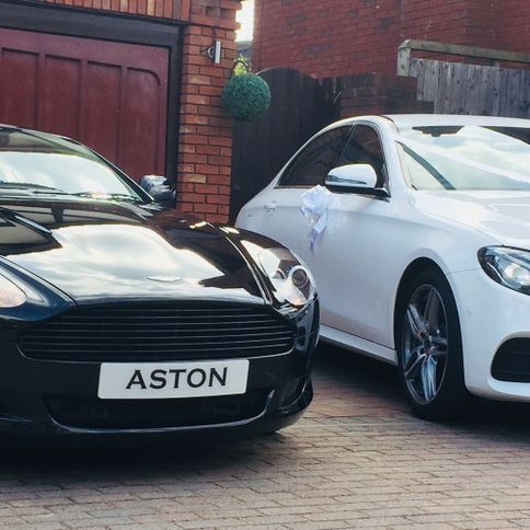 Mercedes and Aston Martin